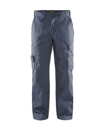 Blaklader 1400 Cargo Trousers 65% Polyester/35% Cotton (Grey)
